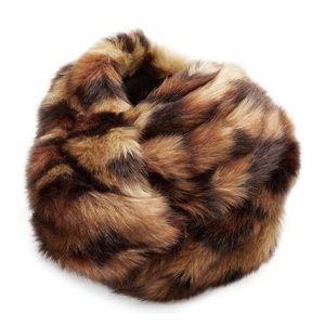 Authentic GUCCI Leopard soft Faux fur Headband ❤️